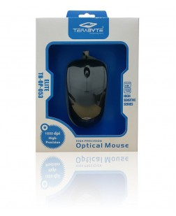 Terabyte TB-OP-053 Elite Slim Optical Mouse (Black)
