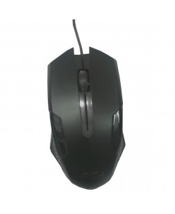 Terabyte TB-OP-064 Fume Wired Optical Mouse (Black)