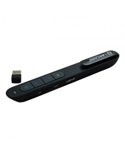 Lapcare LWP-01 Wireless Presenter with Red Laser Pointer, Air Mouse (1 Year Warranty)