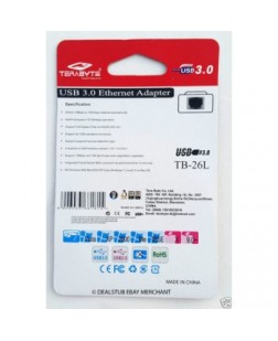 Terabyte TB-26L Ethernet USB LAN Card