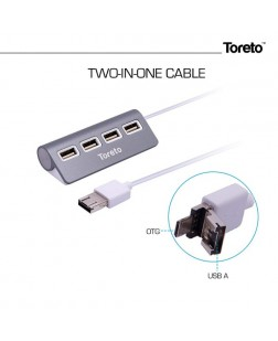 TORETO TOR-752 USB HUB and OTG