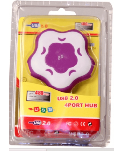 4-Port USB 3.0/2.0 Hub designer with 1 upstream and 4 downstream USB port