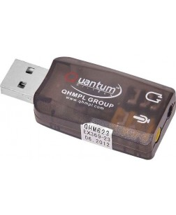 USB Sound Card Integrated 2 channel USB Audio Controller