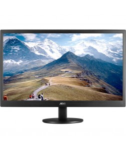AOC 18.5 Inch LED Monitor -  E970SWN (Black)