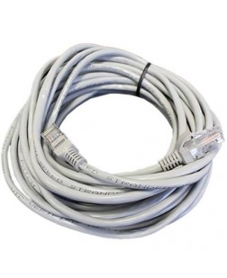 Ethernet Networking CAT5 RJ45 Patch cord of 3m Length (White) by TechnoTech
