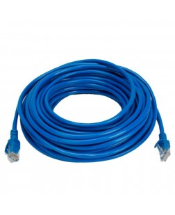 Terabyte CAT5 RJ45 Ethernet Lan Cable Patch Cord 15 Meter (Blue)