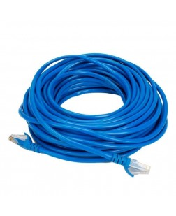 Terabyte CAT5 RJ45 Ethernet Lan Cable Patch Cord 25 Meter (Blue)
