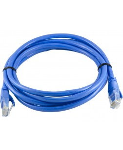 Terabyte CAT5 RJ45 Ethernet Lan Cable Patch Cord 2 Meter (Blue)