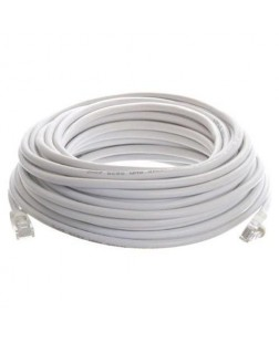 Terabyte CAT6 RJ45 Ethernet Lan Cable Patch Cord 20 Meter (White)