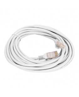 Terabyte CAT6 RJ45 Ethernet Lan Cable Patch Cord 5 Meter (White)