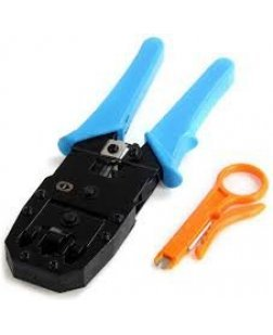 Terabyte 3 in 1 Modular Crimping Tool for RJ45 RJ12 RJ11 UTP CAT5 LAN Cutter