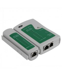 Terabytye Network Lan Cable Tester for Network Line, Telephone Line, BNC Cable, RJ45 RJ11 RJ12 Cat5 Detachable Cable