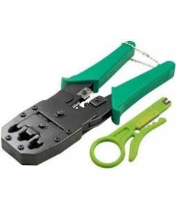 Ratcheting Triple Crimping Tool (RJ 45+RJ11+RJ12)