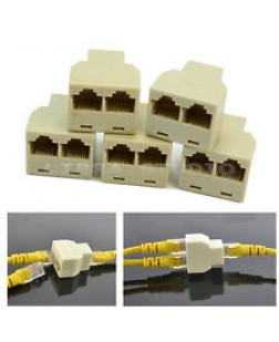 Ethernet Cable Splitters Pack of 10