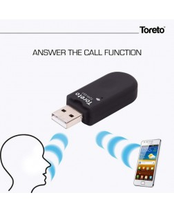 Toreto TOR-651 Bind Bluetooth Dongle – CAR Audio Receiver, Music Playback