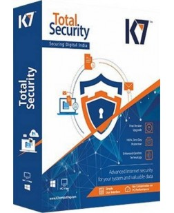 K7 Total Security Security Software > K7 Total Security - 1 PC, 1 Year (12-24 Hours Mail Delivery/CD)