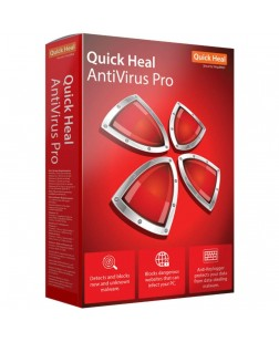 Quick Heal Antivirus Pro Latest Version - 3 PCs, 1 Year (Email Delivery in 2 hours/CD)