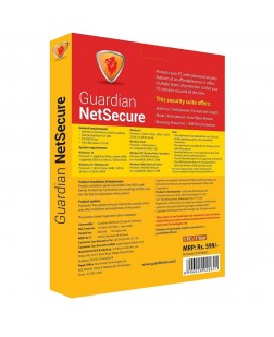 Guardian NetSecure 2018 -1 PC, 1 Year (Email Delivery in 2 hours to 18 Hour, No CD)