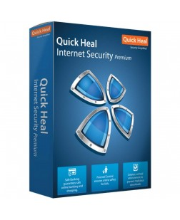 Quick Heal Internet Security 5 User, 1 Year (Email Delivery in 2 hours/CD)