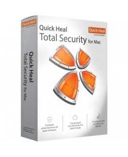 Quick Heal Total Security For Mac 1 Pc, 1 Year (Email Delivery in 2 - 48 hours/CD)