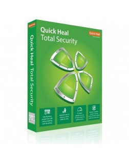 Quick Heal Total Security Latest Version - 1 PC, 1 Year (2 Hours Mail Delivery)