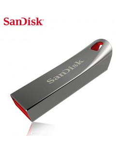 Sandisk Cruzer Force CZ71 8GB Pen Drive (Metal Grey)