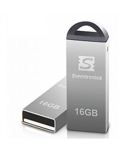 Simmtronics 2.0 Metal Body 16GB Flash Drive