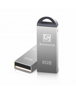Simmtronics 2.0 Metal Body 8GB Flash Drive