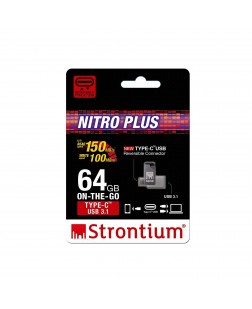 Strontium Nitro Plus 64GB Type-C USB 3.1 Flash Drive