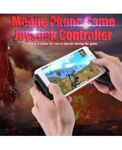 Mobile Phone Gamepad Game Joystick Controller for PUBG Mobile Knives Out(A)