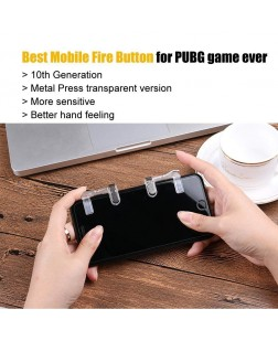 Mobile Game Aim Fire Controller Assist Tool Shooter Button
