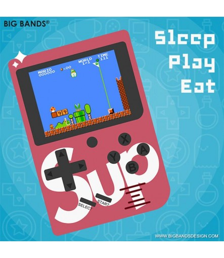 Handheld Game Console Built-in 129 Classic Games, TV PC Output Portable Video Game Console