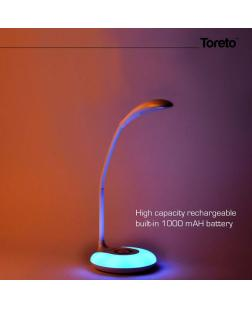 Toreto TOR-101 LED Table Lamp with Adjustable arm & 7 Colours led Light