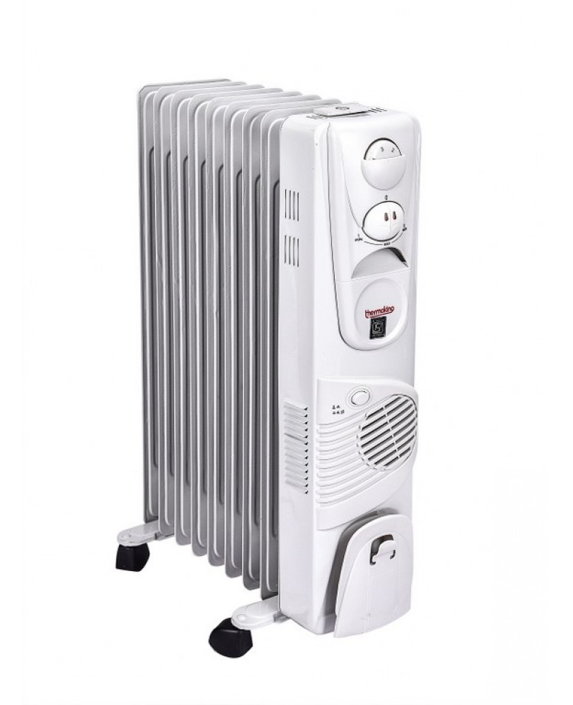 Thermoking Oil Filled Heater With Fan 13 Fins Online At