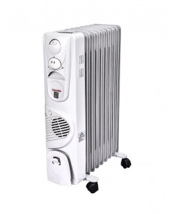Thermoking Oil Filled Heater With Fan (9 Fins  1 Year Waaranty)