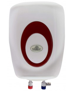 Kalptree Spa 10-Liters - Water Heater/Geyser (Off-White and Maroon)