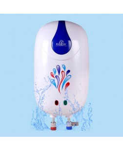 Kalptree Snippy 3-Litres Instant Water Heater/Geyser (White and Blue)