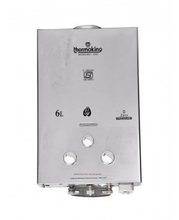 Thermoking 6 L Gas Water Heater - Stainless Steel Body INSA SERIES (1 Year Warranty)