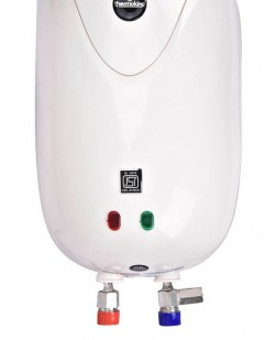 Thermoking 6 Liter Stainless Steel ABS Storage Water Heater - Silver Series - (1 Year Warranty)