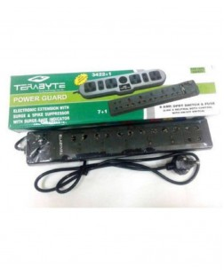 Terabyte 6 Socket Power Strip Extension board 1.5M Surge Protector