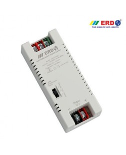 ERD 12V-3Amp LED Strip Power Supply with Voltage Boosting (AC to DC)