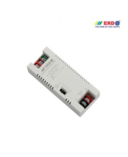 ERD 12V-5Amp LED Strip Power Supply with Voltage Boosting (AC to DC)