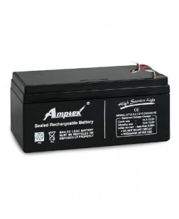 Amptek 12V 3.3mAh Sealed maintenance Free Battery (12V-3.3mAh)