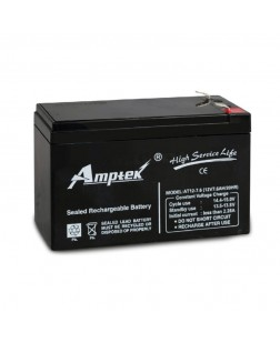 Amptek 12V 7.6mAh Sealed maintenance Free Battery (12V-7.6mAh)