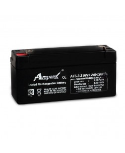 Amptek 6V 3.2mAh Sealed maintenance Free Battery (6V-3.2mAh)