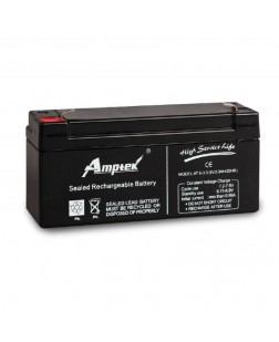 Amptek 6V 3.3mAh Sealed maintenance Free Battery (6V-3.3mAh)