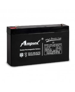 Amptek 6V 7mAh Sealed maintenance Free Battery (6V-7mAh)