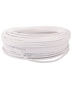 FX 2 Core Fully Copper Wire 90 Meter (White)