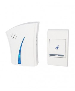 Baoji Wireless Multi Music Door Bell Alarm (White)