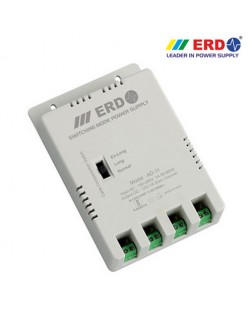 ERD AD-11 4 Channel Power Supply for CCTV Cameras with Variable Voltage